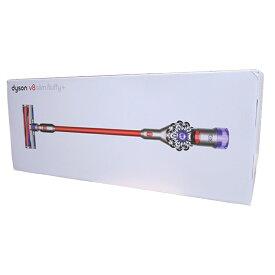 ダイソン 掃除機 Dyson V8 Slim Fluffy+ SV10KSLMCOM ニッケル/アイアン/レッド サイクロン式 コードレスクリーナー 【送料無料】【KK9N0D18P】