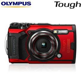 【即納】オリンパス Tough TG-6 タフネス コンパクトデジタルカメラ 水中撮影モード搭載 防水防塵 耐衝撃 耐荷重 耐低温 TG-6-RED レッド【送料無料】【KK9N0D18P】