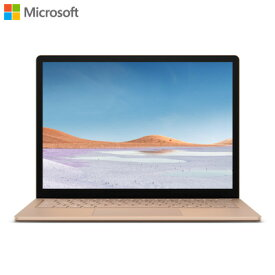 マイクロソフト ノートパソコン 13.5インチ Surface Laptop 3 VEF-00081 サンドストーン サーフェス【送料無料】【KK9N0D18P】