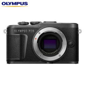 【キャッシュレス5%還元店】オリンパス ミラーレス一眼カメラ OLYMPUS PEN E-PL10 ボディー E-PL10-BODY-BK ブラック【送料無料】【KK9N0D18P】