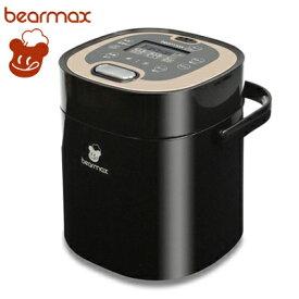 【即納】クマザキエイム 2.5合炊き 調理機能搭載 小型炊飯器 マルチ・ライスクッカー 1〜2人用 レシピブック付き MC-106-BK【送料無料】【KK9N0D18P】