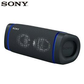 【即納】ソニー ワイヤレスポータブルスピーカー SRS-XB33-B ブラック SONY【送料無料】【KK9N0D18P】