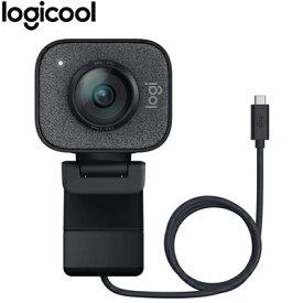 【即納】ロジクール ストリーミング ウェブカメラ C980GR グラファイト コントラスト StreamCam【送料無料】【KK9N0D18P】
