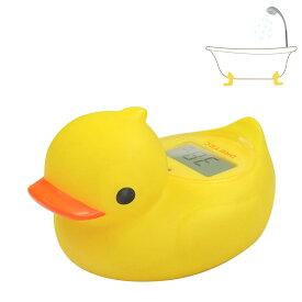 湯温計 お風呂 デジタル温度計 O-238 アヒル ガーくん メール便可¥320