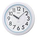 防水時計 バスクロック Φ約28cm 大型時計 ノア精密 防塵 アクアガード