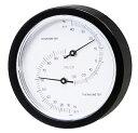 温湿度計:小型アナログ温度湿度計(壁掛)CR-58C【メール便可¥320】