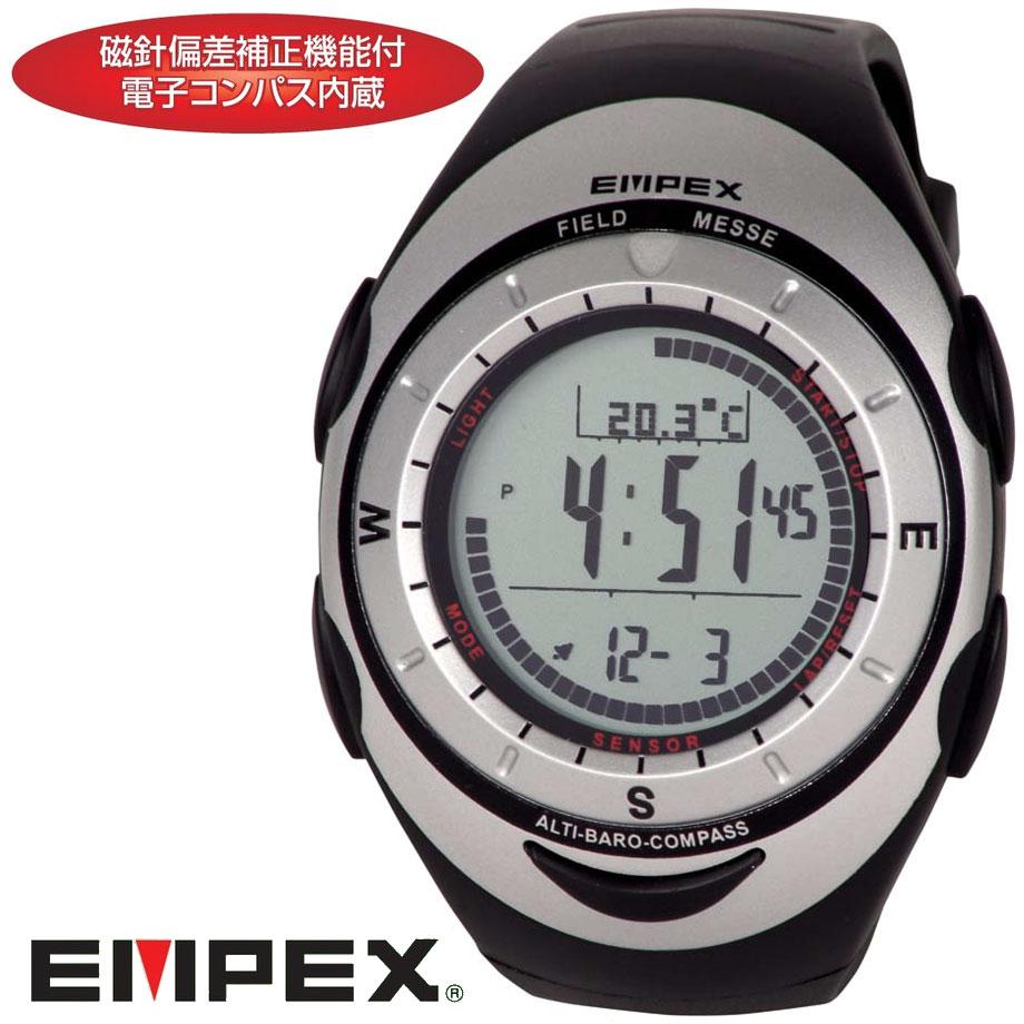 高度計&気圧計&コンパス&温度計つきデジタル腕時計FG-5907【送料無料・代引手数料無料】