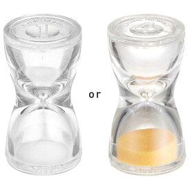 砂時計 1分計 サンドグラス ホワイト トルソー メール便可¥320