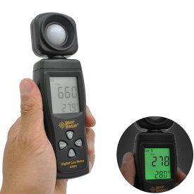 ルクスメーター:デジタル照度計AS803【メール便可¥320】