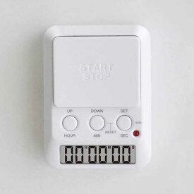 タイマー 超大型ボタン 長時間 カウントダウンタイマー T-580 メール便可¥320