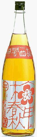 西山酒造場小鼓の梅酒 梅申春秋  (ばいしんしゅんじゅう) 1800mle