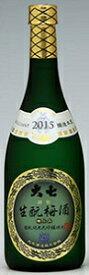 大七酒造(株)生もと梅酒(極上品) 720ml/6本.e福島お届けまで10日ほどかかります