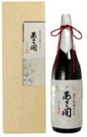 あさ開あさ開 純米大吟醸 磨き五割1800ml.e .hn 化粧箱入お届けまで20日ほどかかります