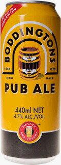 England beerボディントン 缶 440ml/24本knBoddingtons イギリスビールケース重量:約11.0kg
