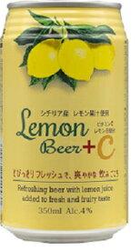 Japan beer 日本 ビールレモンビール+C 缶350ml/24本.n