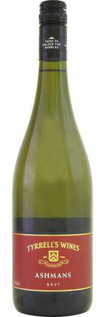 ティレルズ アシュマン ブリュット (SC) NV 白泡 750mlTYRRELL'S ASHMANS BRUT200 最上区画を含む選りすぐりのセミヨンにシャルドネを程よくブレンド。ワンランク上のまろやかな風合いを表現。