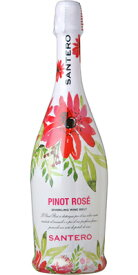 サンテロピノ ロゼ フラワーボトル 750ml/12本mxPinot Rose Flower Bottle 611670