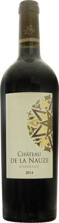 シャトー ド ラ ノーズ 2014 赤 750ml/12本CHATEAU DE LA NAUZE233.e赤果実を思わせるはっきりとしたアロマ。心地よいフレッシュ感となめらかなタンニン、ドライな味わいもエレガントなワイン。