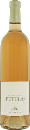 マレノン ペテュラ ロゼ 2015 ロゼ 750ml/12本MARRENON PETULA ROSE2370小さな赤い果実と優しいスパイスの香り、ジューシーでまろやかな味わい。セレクトされた区画から造られる上質なロゼワイン。