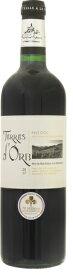 ロクブルン テール ドーブ ルージュ 2017年 赤 750ml/12本ROQUEBRUN TERRES D'ORB ROUGE.929ドーブとはオーブ河の大地を意味しています。ベリー系の凝縮した果実味があり、柔らかな口当たりとまろやかなタンニンのバランスの良いワイン