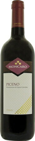 モンカロ  ロッソ ピチェーノ 2015 赤 750mlMONCARO ROSSO PICENO.578サンジョベーゼとモンテプルチャーノのブレンドを、大樽で6ヶ月熟成。熟れた果実味とソフトなタンニンの活き活きしたワインです