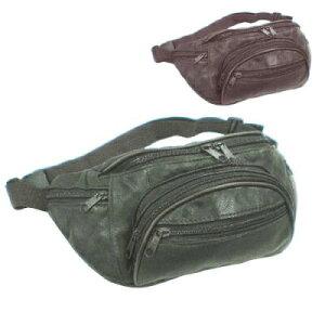 メール便 なら 送料無料 本革 ウエストポーチ 0110 ウエストバッグ ボディバッグ ヒップバッグ 斜めがけ男女兼用【bag】cp