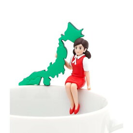 日本列島のフチ子 【 コップのフチ子 JAPAN 】 奇譚クラブ カプセル 【あす楽】