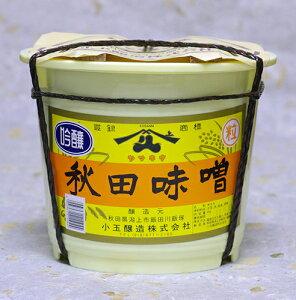 【3240円以上送料無料対象品】ヤマキウ 吟醸 秋田味噌 4kg