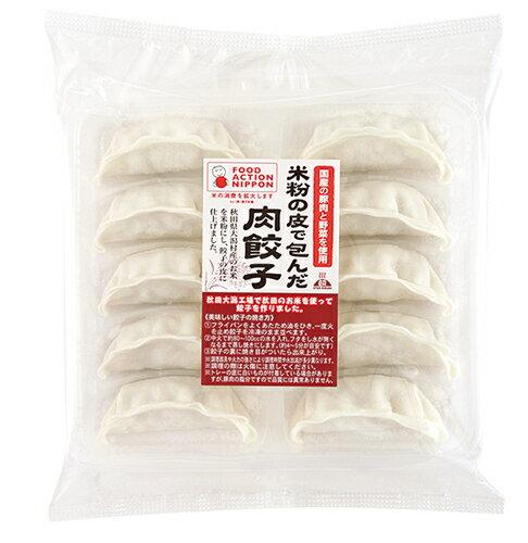 【冷凍便発送】 餃子計画 米粉の皮で包んだ餃子 肉餃子10個入り