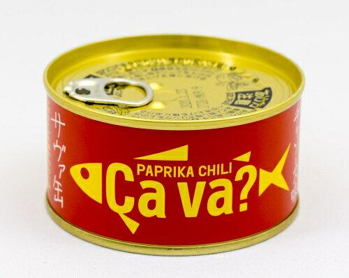 岩手県 国産サバのパプリカチリソース味サヴァ缶