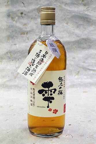 金紋秋田酒造 悠久の梅 雫 720mlカートンなし