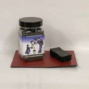 京のお海苔シリーズ『蔵出し醤油の味のり10切100枚(板のり10枚分)』お海苔屋さんの拘りお海苔