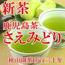 新茶【2017年産】さえみどり 80g 緑茶 煎茶 メール便(DM便)送料無料(鹿児島茶 煎茶)(am10)