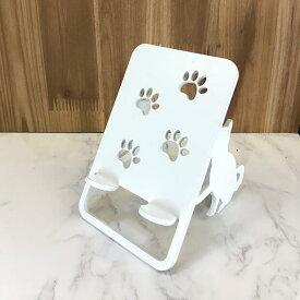 スマホスタンド 送料無料 日本製 犬 おしゃれ 可愛い 贈り物 ギフト 誕生日 お祝い 柴犬(ワンピースタイプ)のワンちゃんが スマホ iPhoneスマホ iPhone を支えます。鉄製 安定感があり、 スマートフォン アイフォン アンドロイド アイパッド も大丈夫!