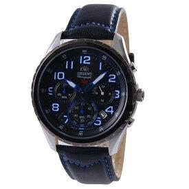 オリエント ORIENT 腕時計 クオーツ クロノグラフ SPモデル ブラック/ブルー 日本製 海外モデル SKV01004B0 メンズ [国内正規品]
