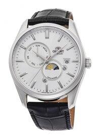 オリエント ORIENT 腕時計 サン&ムーン 機械式 自動巻(手巻付き) 革ベルト RN-AK0305S メンズ【国内正規品】