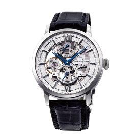"""オリエントスター ORIENT STAR 腕時計 機械式 手巻き スケルトン """"シルバーxブルー"""" RKDX0001S メンズ [国内正規品]"""