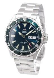 オリエント ORIENT 腕時計 機械式 MAKO 3 自動巻き(手巻付き) 海外モデル グリーン サファイヤクリスタル RA-AA0004E19B メンズ [逆輸入品]