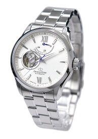 オリエント ORIENT 腕時計 ORIENTSTAR オリエントスター 機械式 自動巻(手巻付き) 海外モデル セミスケルトン ホワイト RE-AT0003S メンズ 国内正規品