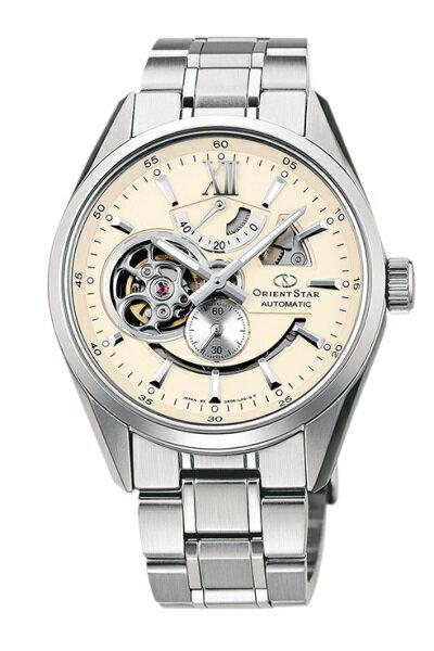 オリエント ORIENT 腕時計 ORIENTSTAR オリエントスター 機械式 自動巻(手巻付き) モダンスケルトン ホワイト WZ0281DK メンズ