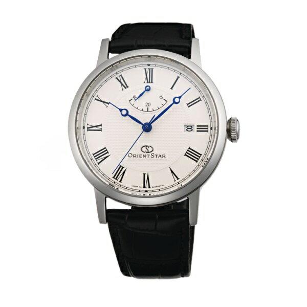 オリエント ORIENT 腕時計 ORIENTSTAR オリエントスター クラシック 機械式 自動巻(手巻付き) ホワイト WZ0341EL メンズ