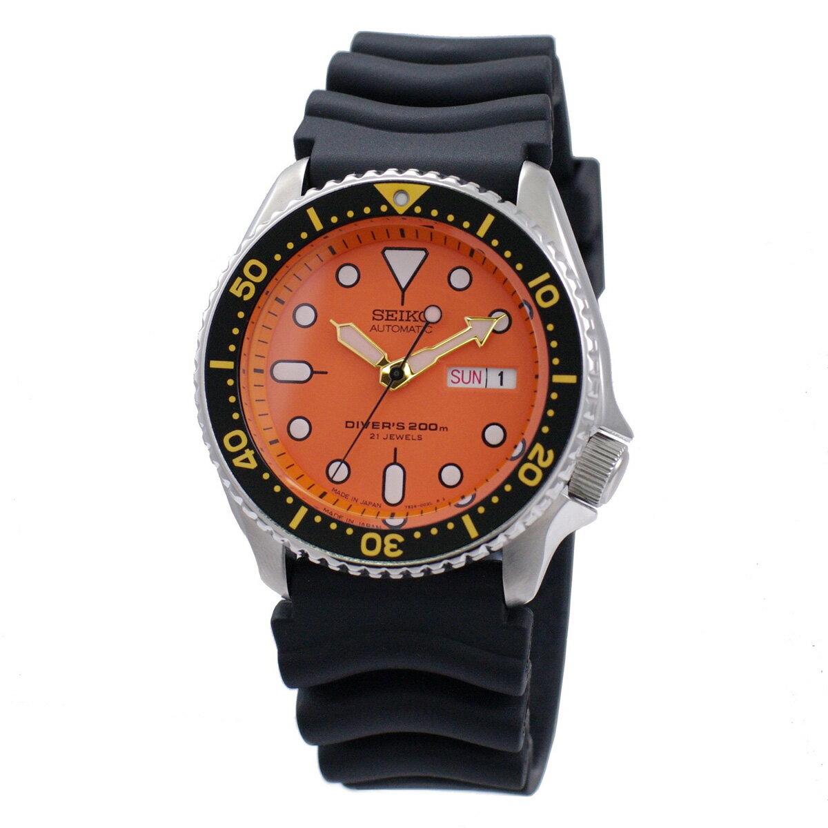 セイコー SEIKO 腕時計 海外モデル 自動巻き 日本製 ORANGE BOY オレンジボーイ SKX011J1 メンズ [逆輸入品]