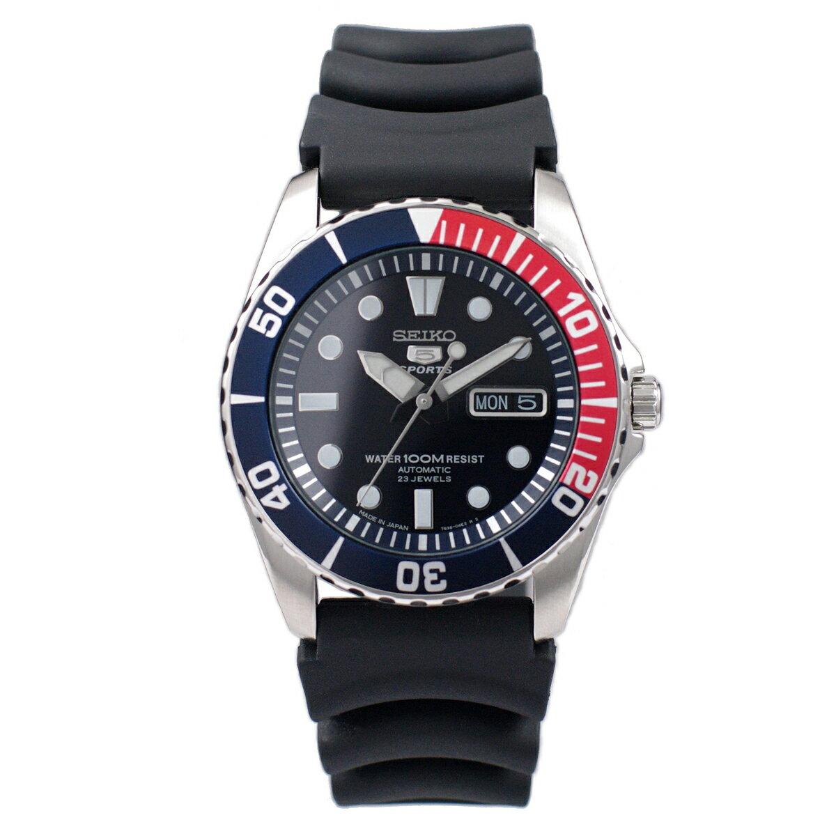 セイコー SEIKO 5 SPORTS 腕時計 海外モデル 自動巻き 日本製 100M防水 SNZF15J2 メンズ [逆輸入品]