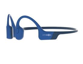 【国内正規品】AfterShokz アフターショックス AFT-EP-000013 骨伝導ワイヤレスヘッドフォン Bluetooth イヤホン 通話可能 AEROPEX 軽量 AS800BL ブルーエクリプス【送料無料】