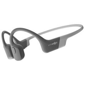 【国内正規品】AfterShokz アフターショックス AFT-EP-000012 骨伝導ワイヤレスヘッドフォン Bluetooth イヤホン 通話可能 AEROPEX 軽量 AS800GY ルナグレー【送料無料】