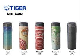 【TIGER】ステンレスボトル MJX-A482 日本の伝統美 和柄 魔法瓶【桐箱入り】
