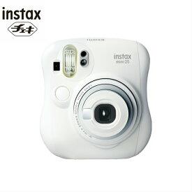 【FUJIFILM】【新品】インスタントカメラ チェキ INSTAXMINI25 白 ホワイト 【富士フィルム】