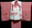 七五三 着物 3歳 女の子 着物 被布セット 新品73j303