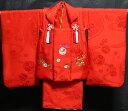 七五三 着物 3歳 女の子 正絹 被布セット 新品73j290