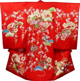お宮参り 女の子 着物 祝着 正絹 のしめ 初着 産着 新品j2024
